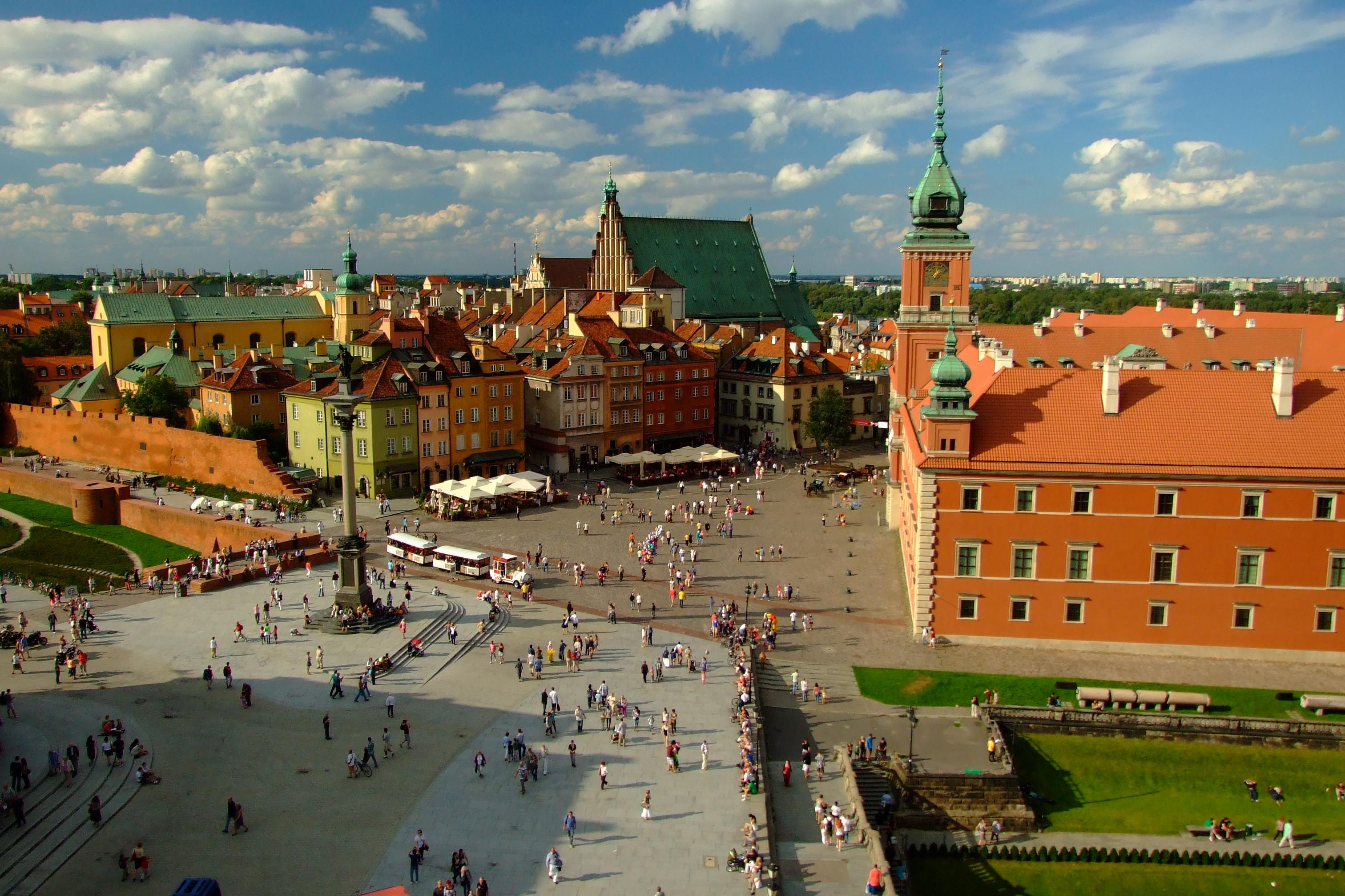 Wycieczka po Warszawie z przewodnikiem