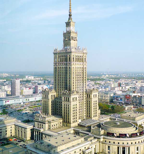 Young Professionals – Warm up session – Pałac Kultury i Nauki w Warszawie